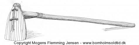 Skulderbladshakke brugt af de første agerbrugere i Mellemøsten