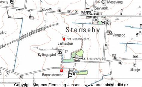 Bønnestenen og Ndr. Stensebygård