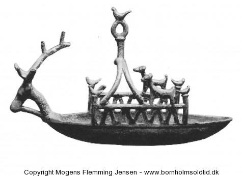 Bronzeskib Sardinien. bornholmsoldtid.dk