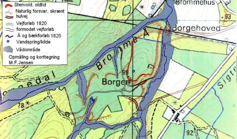 Borgehoved, bornholmsoldtid.dk DTK-4cmKORT(trykt 1977-1992)