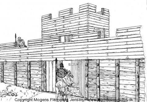 Gamleborg 945-1149 e.Kr. bornholmsoldtid.dk
